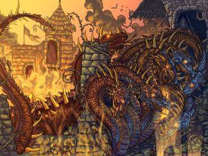 The Hydra attacks