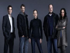 "Main cast in ""The Killing"""
