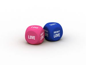The love dice