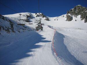 Ski resort San Isidro (León, Spain)