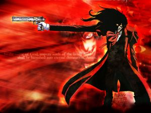 Hellsing, in the name of God...