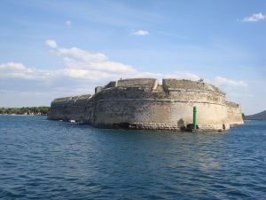 Fortress in Sibenik (Croatia)