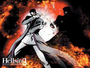 Hellsing, manga series by Kota Hirano