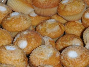 Traditional cupcakes from Torno (Cáceres, Spain)