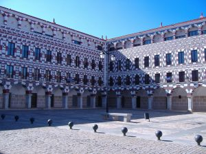 View of the Plaza Alta from Badajoz
