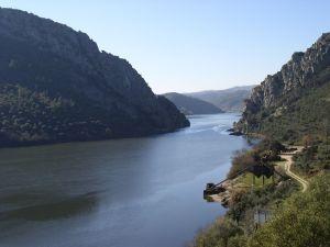 The Tagus River passing by Vila Velha de Rodao (Portugal)