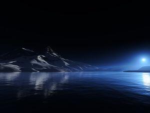 Calm in the night