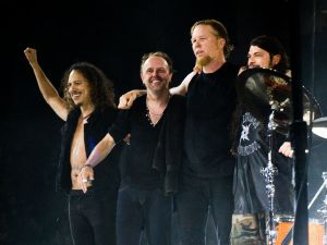 Metallica in live at the O2 Arena