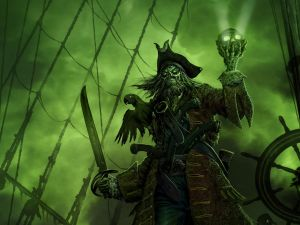 Tenebrous pirate