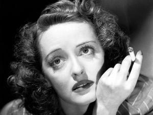 The actress Bette Davis
