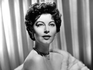 The actress Ava Gardner