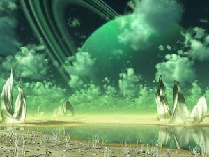 Green atmosphere