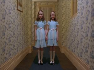 "The twin girls of ""The Shining"""