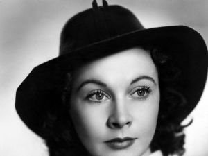 The beautiful actress Vivien Leigh