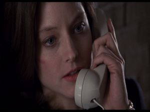 "Clarice Starling in ""The Silence of the Lambs"""