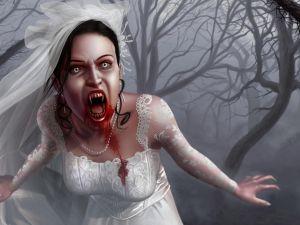 Bride vampiress
