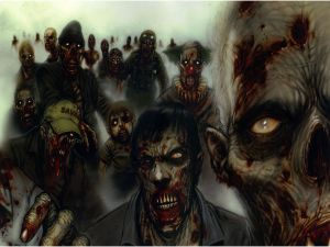 Herd of zombies