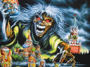 Eddie in Russia