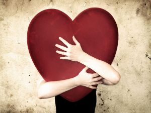 Hug to a big heart