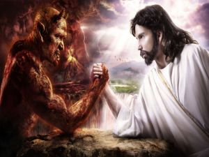 God vs Lucifer