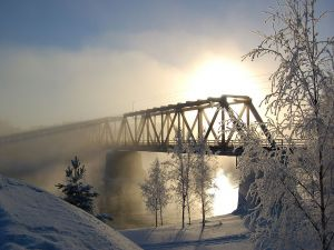 Vaalankurkku Railway Bridge (Finland)