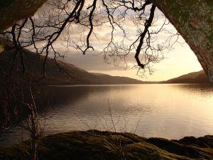 View of Loch Lomond (Scotland)