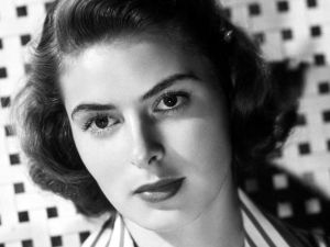 The actress Ingrid Bergman