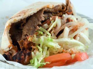 Kebab bocadillo