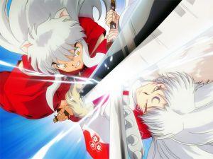 Inuyasha vs Sesshomaru