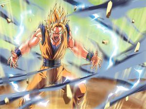 Enraged Goku