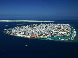 Malé, capital of the Maldives