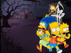 The Simpsons in Halloween