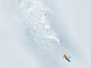 Artist of snowboarding