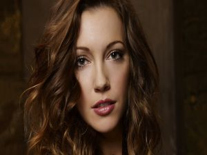The actress Katie Cassidy