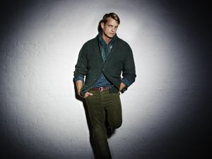 The Swedish actor Joel Kinnaman