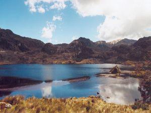 """Lake in the National Park """"El Cajas"""", Ecuador"""