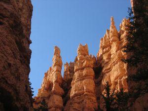 Bryce Canyon hoodoos in Bryce Canyon National Park, Utah, USA
