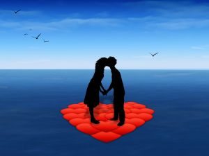 Love in the ocean