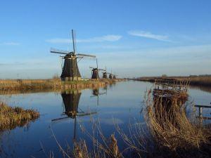 Windmills of Kinderdijk, The Netherlands