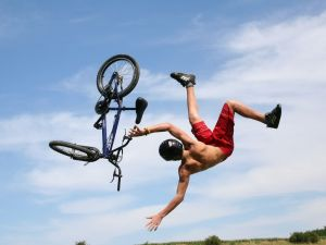 Somersault with the bike