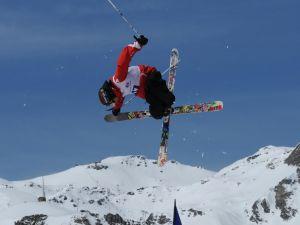 Acrobatic in skiing
