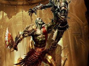 Kratos vs Warrior