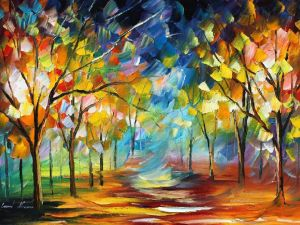 Real life, by Leonid Afremov