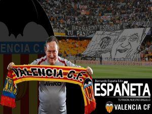 Españeta, historical kit man of Valencia Football Club
