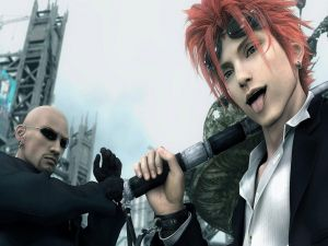 Ruda and Reno (Final Fantasy VII: Advent Children)