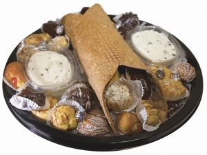 Cannolo with pastries