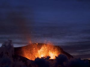 Eyjafjallajökull volcano eruption (Iceland)