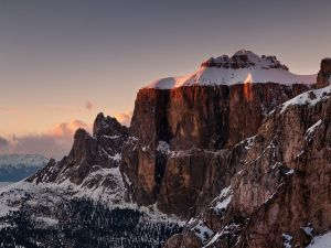 Sella Group in the Dolomites (Italy)