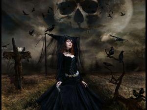 Dangerous sorceress
