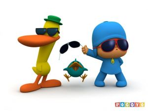 Pocoyo with sunglasses